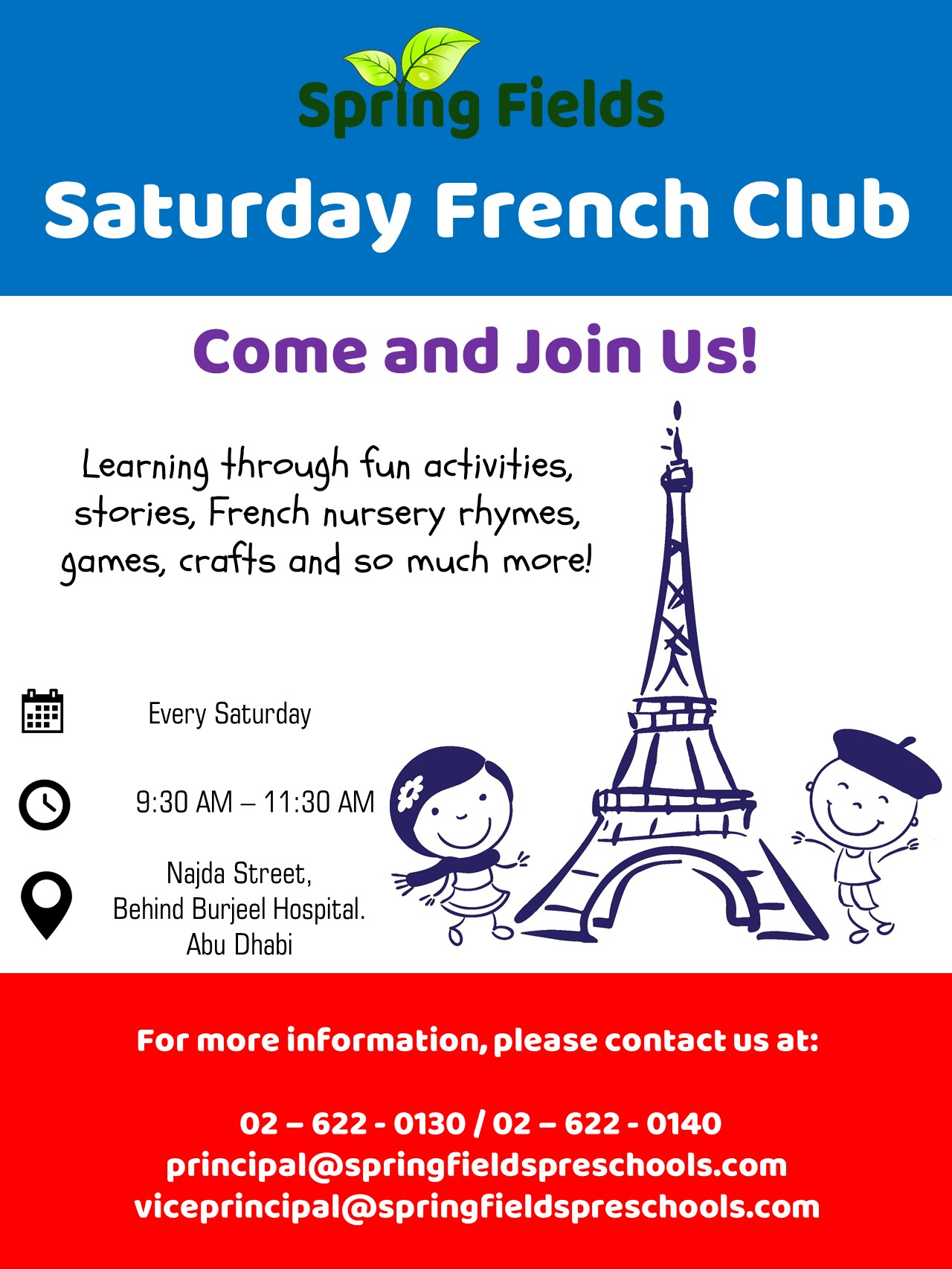 French-Club-Flyer